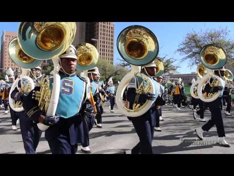 Southern University Human Jukebox - Houston MLK Parade (2015)