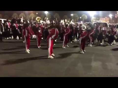"Donaldsonville High School Marching Band - ""Get it Get it"" 2015"