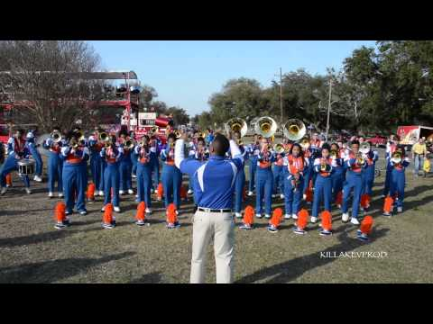 Hunters Lane High School Marching Band - No Letting Go - 2015