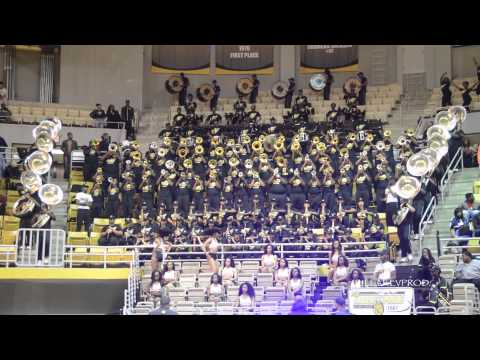 Alabama State University Marching Band - This Is How We Do It - 2015