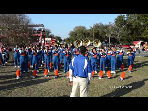 Hunters Lane High School Marching Band - Uptown Funk - 2015