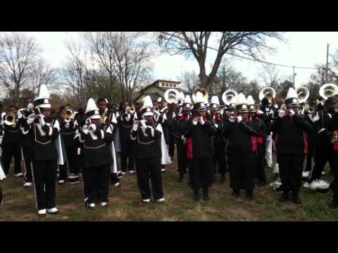 Mdcc marching band and MVSU 2012