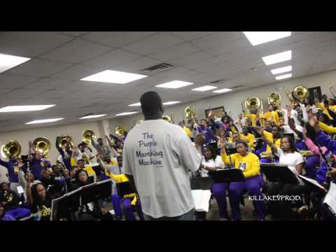 Miles College Marching Band - All Of Me (Band Room) - 2015