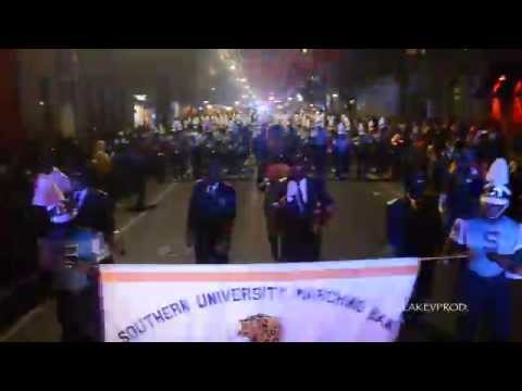Southern University Marching Band @ 2015 Bacchus Parade