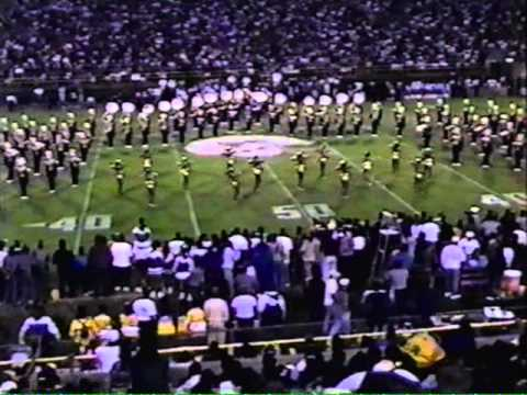 JSU Band Instigates a fight with Alcorn at Halftime1994