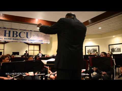 South Carolina State University's Wind Ensemble - 2015