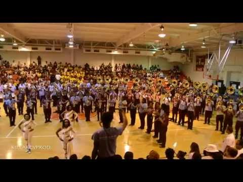 Talladega College Marching Band - Love Don't Love You - 2015