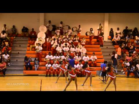 American Way Middle School Marching Band - Enough - 2015