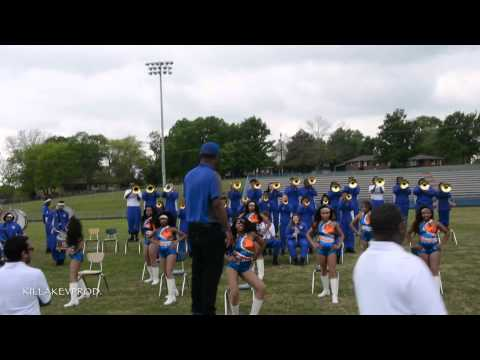 Hunters Lane v.s. Whitehaven High School Marching Band - Round 4 - 2015