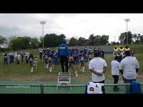 Hunters Lane v.s. Whitehaven High School Marching Band - Round 11 - 2015