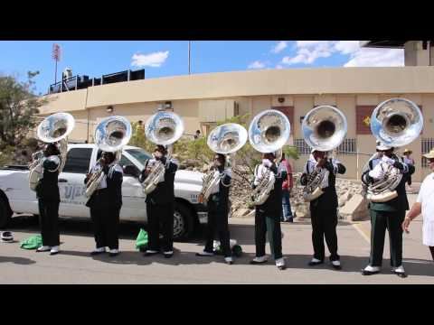 MVSU - SWAC Hammer | Tuba Section (2015)