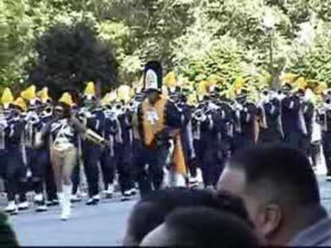 NCAT Marching Band Circle City Classic Parade