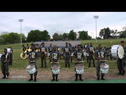 Hunters Lane v.s. Whitehaven High School Marching Band - Round 6 (Percussion) - 2015