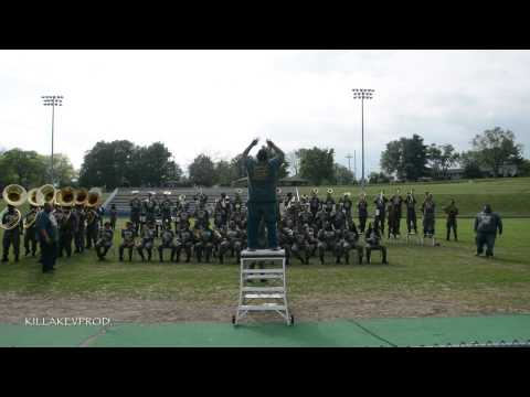 Hunters Lane v.s. Whitehaven High School Marching Band - Round 1 - 2015