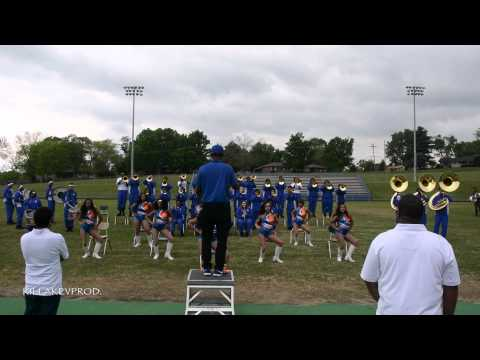 Hunters Lane v.s. Whitehaven High School Marching Band - Round 3 - 2015