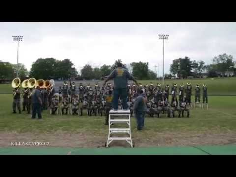 Hunters Lane v.s. Whitehaven High School Marching Band - Round 8 - 2015