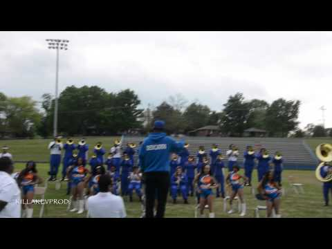 Hunters Lane v.s. Whitehaven High School Marching Band - Round 10 - 2015