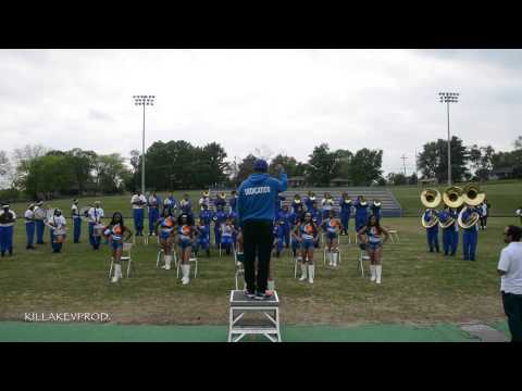 Hunters Lane v.s. Whitehaven High School Marching Band - Round 14 - 2015