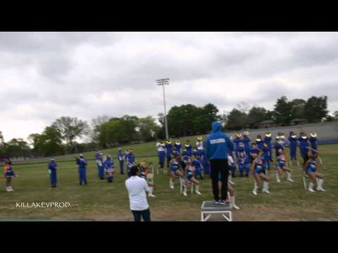 Hunters Lane v.s. Whitehaven High School Marching Band - Round 5 - 2015