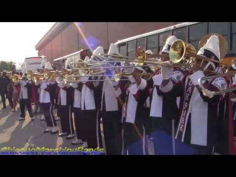 Oak Park High School band vs King College Prep Band 2014