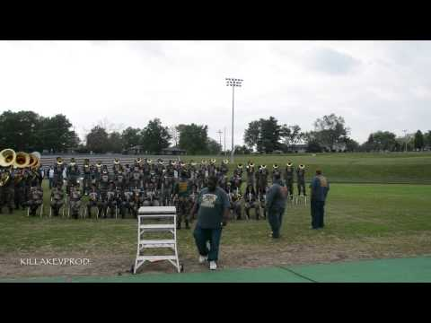 Hunters Lane v.s. Whitehaven High School Marching Band - Round 13 - 2015
