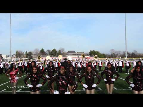 Oak Park High School Marching Band - Chorale into Just Turn To - 2015