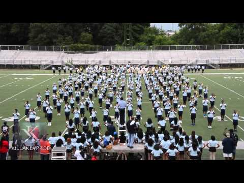 Independence Day Showdown - Jackson State University High School Band Camp - 2015