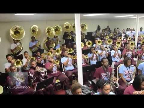 Talladega College Marching Band - Ain't No Mountain (Band Room) - 2015