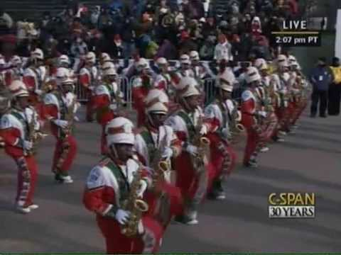 #TBT FAMU Marching Band (2009) President Inauguration Parade