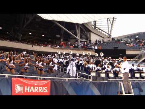 Hampton University Band Neck Remix Chicago Football Classic