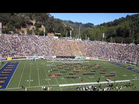 Grambling State University World Famed Tiger marching band halftime show vs. Cal