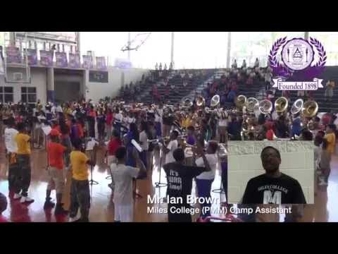 Birmingham City Schools Band Camp 2015 hosted by Miles College