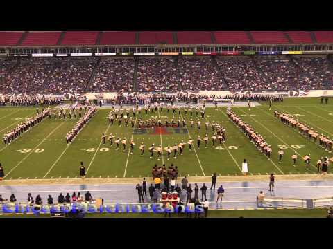 Alabama State Band Halftime 2015
