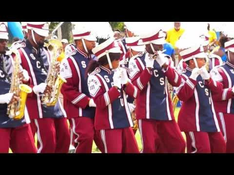 "2015 SCSU Marching 101 performing ""Get Up"" @ MEAC/SWAC Challenge Tailgate"