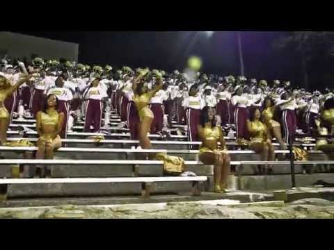 Bethune-Cookman Univ. and Talladega College Stand Battle part 1: McDonald's Queen City BOTB 2015