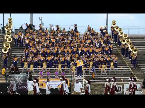 Alabama A&M University v.s. Miles College - Stands Battle - 2015