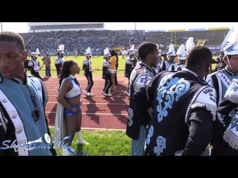 JSU Marching In - 2015 BBC SU vs JSU Boombox Classic