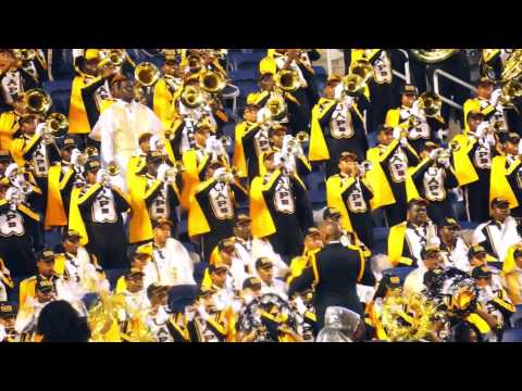 """UAPB """"M4"""" IN THE STANDS @ 2015 MEAC/SWAC Challenge Game"""