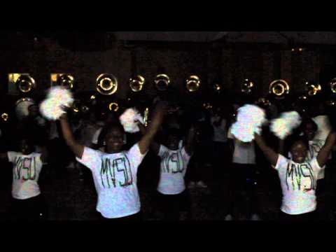 MVSU Mean Green Marching Machine
