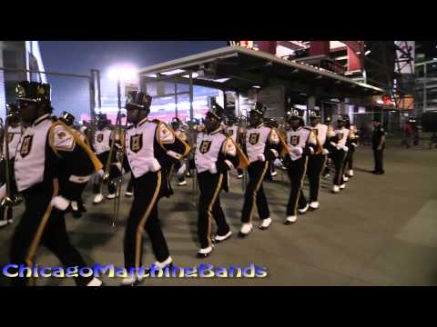 Alabama State University Band and Stingettes 2015