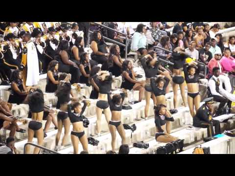 "2015-16 Mighty Marching Hornets performing ""CUTIE PIE"" ft. Stingettes"