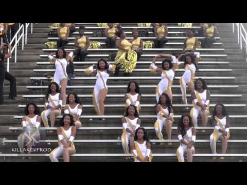 UAPB Marching Band - Golden Girls @AAMU - 2015