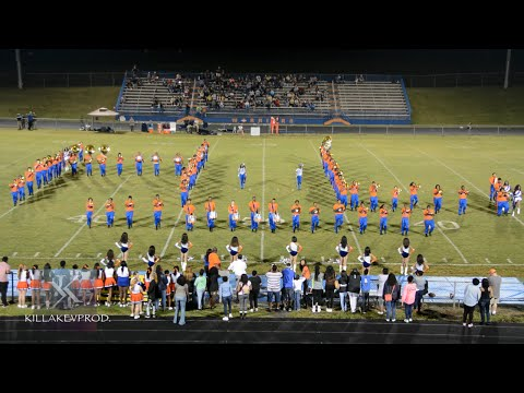 Hunters Lane High School Marching Band - Halftime (Homecoming) - 2015