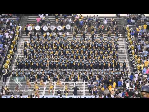 Southern University Marching Band - Welcome To The Jungle - 2015