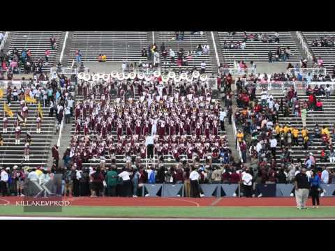 Alabama A&M University Marching Band - Give Me Your Love - 2015