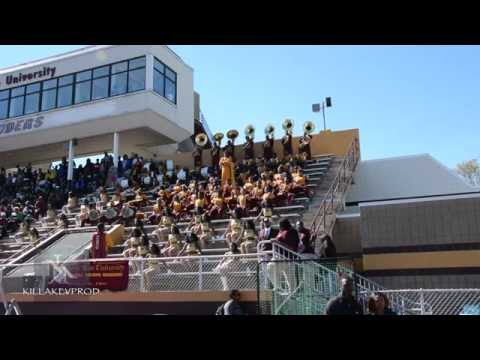 Miles College v.s. Central State - Sousaphone Battle - 2015