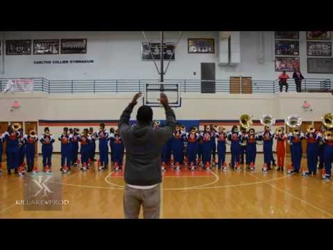 Hunters Lane High School Marching Band - Yoga - 2015