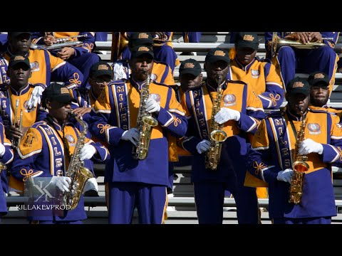 Miles College Marching Band - Saxophone Fanfares - 2015