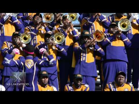 Miles College v.s. Central State - Trombone Battle - 2015