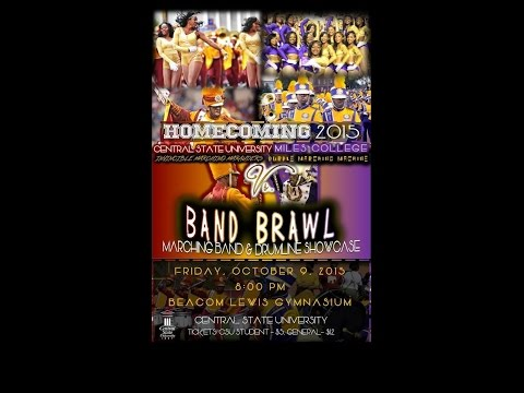 Central State University Band Brawl (IMM v.s. PMM) - 2015 FULL UNCUT EVENT